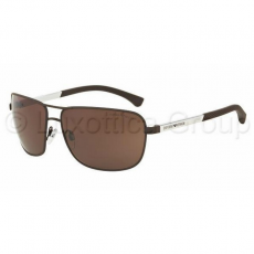 Emporio Armani EA2033 313273 BROWN RUBBER BROWN napszemüveg