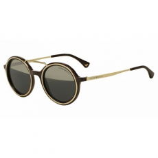 Emporio Armani EA4062 54631Z BROWN/PALE GOLD GREY MIRROR GOLD napszemüveg