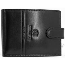 Emporio Valentini Bőr férfi kapcsos fekete pénztárca  Emporio Valentini