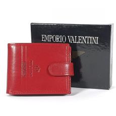 Emporio Valentini Valentini piros, kis patentos bőr pénztárca 5631052