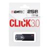 Emtec Pen drive EMTEC Click B100 ECMMD256GB103 (256 GB; USB 3.0; Black)