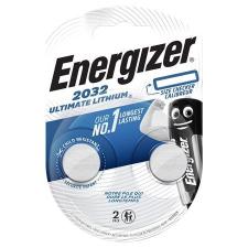 ENERGIZER Gombelem, lítium, CR2032, 2 db, ENERGIZER  Ultimate gombelem