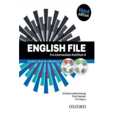 English File third edition: Pre-intermediate: MultiPACK B idegen nyelvű könyv