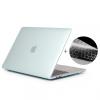 """ENKAY 2az1-ben védőborító ultravékony EU billentyűzet Macbook Pro 13"""" készülékhez Touch Bar nélkül (model A1708) - zöld"""