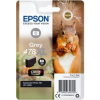 Epson Singlepack Grey 478XL Claria Photo HD Ink (C13T04F64010)