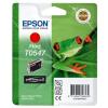 Epson T05474010 Tintapatron StylusPhoto R800 nyomtatóhoz, EPSON piros, 13ml