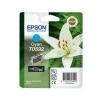 Epson T05924010 Tintapatron StylusPhoto R2400 nyomtatóhoz, EPSON kék, 13ml