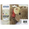 Epson T06154010 Tintapatron multipack Stylus D68, D88, D88PE nyomtatókhoz, EPSON b+c+m+y, 32ml