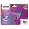 Epson T08074011 Tintapatron multipack StylusPhoto R265 nyomtatóhoz, EPSON, b+c+m+y+pc+pm, 44,4ml
