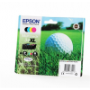 Epson T34764010 Tintapatron multipack Workforce 3720DWF, 3725DWF nyomtatókhoz,  b+c+m+y, 48,7ml