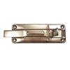 Épülettolózár egyenes lakatolható 120 mm horganyzott