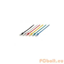 Equip 625425 UTP patch kábel, CAT6, 7,5m piros kábel és adapter