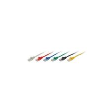 Equip 825436 UTP CAT5e Patch kábel 10m - kék kábel és adapter