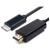 Equip USB 2.0 Type C HDMI Átalakító Fekete 1.8m 133466
