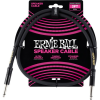 Ernie Ball 3' Straight/Straight Speaker Cable Black