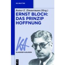 Ernst Bloch – Rainer E. Zimmermann idegen nyelvű könyv