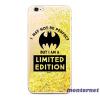 Ert Group Bat Girl 007 Samsung S10 Lite csillámos folyadékos arany hátlap