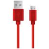 Esperanza USB 2.0 - Micro USB kábel 1m piros