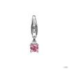 Esprit Anhänger medál ezüst Soloist rózsaszín ESCH90862B000