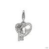 Esprit Anhänger medáls ezüst cirkónia LOCKED szív ESZZ90766A000