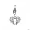 Esprit Anhänger medáls ezüst szívlock szívschloss ESCH91502A000