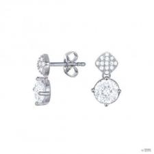 Esprit Női fülbevaló ékszer ezüst cirkónia összetétel ESER93062A000 fülbevaló