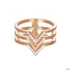 Esprit Női gyűrű nemesacél RosĂŠ JW52894 cirkónia ESRG02611D1 57 (18.1 mm Ă?)
