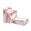 """ESSELTE archiváló doboz, A4, 80 mm, újrahasznosított karton, felfelé nyíló, """"Speedbox"""", fehér"""