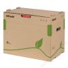 """ESSELTE Archiváló konténer, újrahasznosított karton, iratrendezők számára, ESSELTE """"Eco"""", barna"""