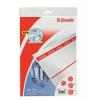 ESSELTE Cserecímke, Easyprint nyomtatható iratrendezőhöz, karton, 49x158 mm, ESSELTE, fehér