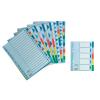 ESSELTE Elválasztólap -15267- A4 MAXI 10-részes műanyag ESSELTE <10csom/dob>