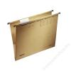 ESSELTE Függőmappa, karton, A4, oldalt zárt, LEITZ Alpha, natúr (E19160000)