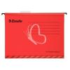 "ESSELTE Függőmappa, újrahasznosított karton, A4, ESSELTE ""Classic"", piros"