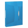 ESSELTE Gumis mappa, 40 mm, PP, A4,  Jumbo Vivida, kék