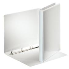 ESSELTE Gyűrűs könyv, panorámás, 4 gyűrű, 25 mm, A4, PP/PP, , fehér mappa