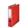 ESSELTE Iratrendező, 75 mm, A4, PP/karton, élvédő sínnel, ESSELTE Economy, piros