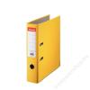 ESSELTE Iratrendező, 75 mm, A4, PP/karton, élvédő sínnel, ESSELTE Economy, sárga (E10782)