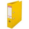 ESSELTE Iratrendező, 75 mm, A4, PP/PP, élvédő sínnel, ESSELTE Standard, sárga (E811310)