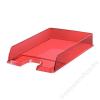 ESSELTE Irattálca, műanyag, ESSELTE Europost, áttetsző piros (E623601)