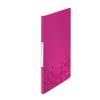Esselte Kft. LEITZ WOW iratvédő mappa, 20 tasakos, rózsaszín