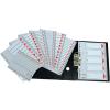 ESSELTE Regiszter -100106- A4 1-12 műanyag ESSELTE <10csom/dob>