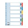 ESSELTE Regiszter, laminált karton, A4, 6 részes, ESSELTE