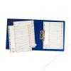 ESSELTE Regiszter, műanyag, A4 Jan-Dec, ESSELTE, szürke (E100114)