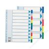 ESSELTE Regiszter, műanyag, A4 Maxi, 10 részes, ESSELTE (E15267)