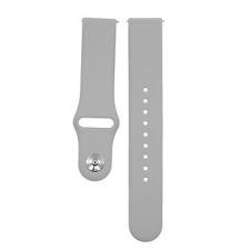 Eternico Samsung 20 Silicone Band szürke óraszíj