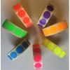 . Etikett, 20 mm kör, 1000 etikett/tekercs, citromsárga