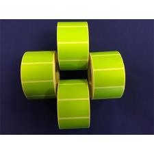 Etikett, thermo, 25x45 mm, 1000 etikett/tekercs, zöld etikett