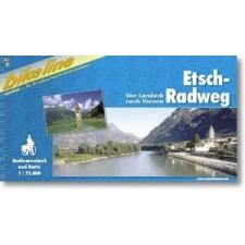 Etsch-Radweg - Esterbauer térkép