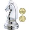 Eureka Cast Sakk - Ló (ezüst)