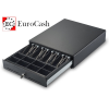 EuroCash C3540 közepes pénztárgép fiók, kasszafiók - fekete